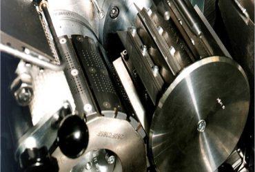 Tipping paper shear cut unit