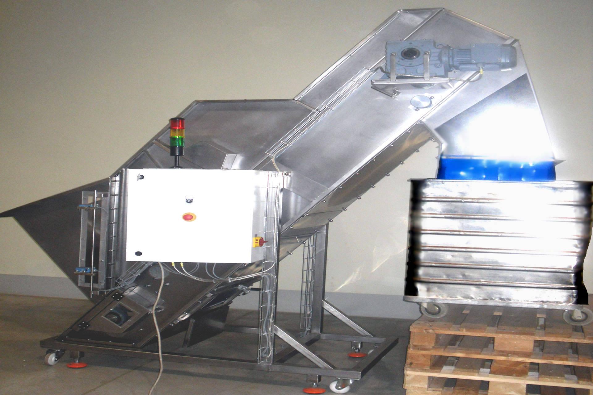 Add-back Conveyors