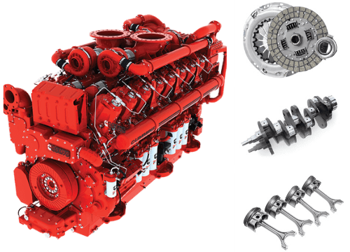 Cummins Diesel Engines Industrial Uses and Engines